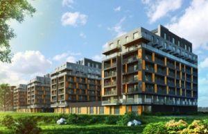 Wizualizacja City Towers Czyżyny źródło: gazetainwestor.pl