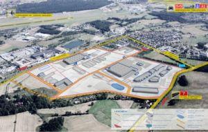 Koncepcja urbanistyczna Parku Maszynownia - biuro Schleifer & Milczanowski , źródło: jk-architekci.pl