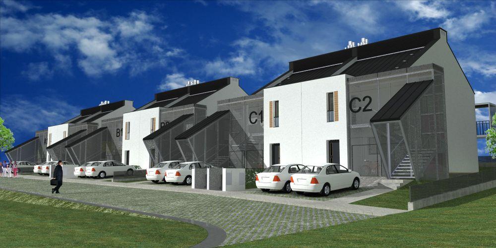 osiedle domów pasywnych BUILDgreen Design