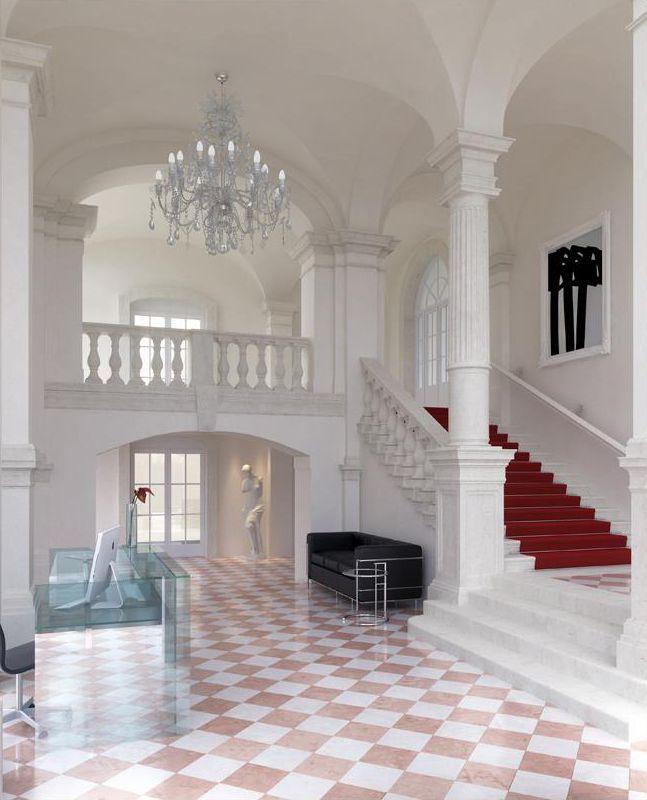 Angel Wawel wnętrze
