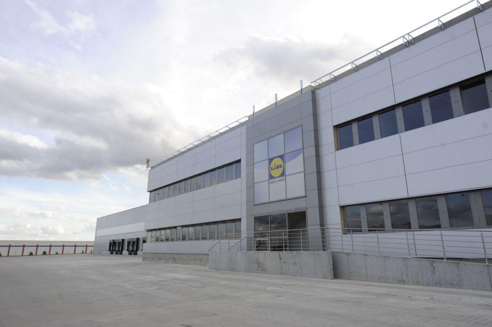Lidl Centrum Dystrybucyjne Jankowice