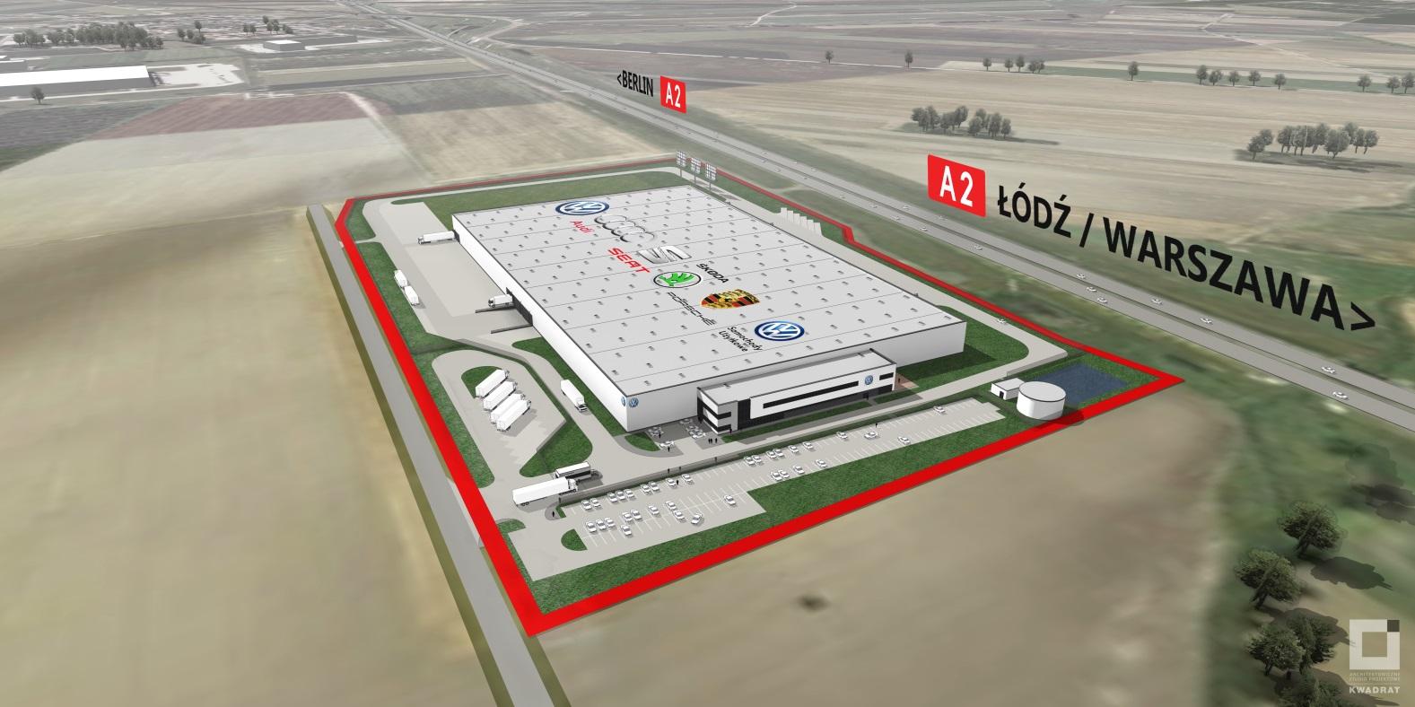 Volkswagen centrum logistyczne