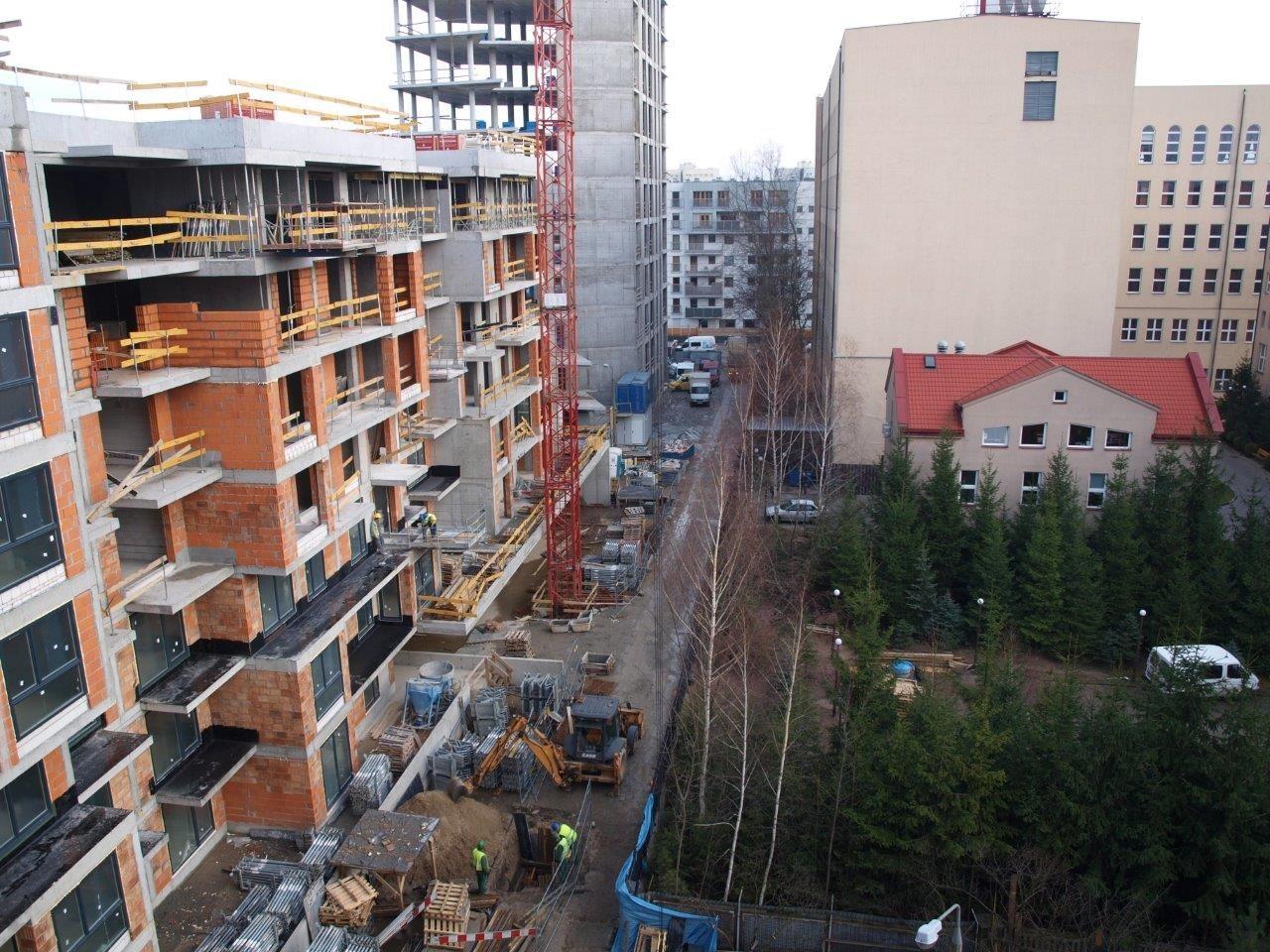 DKF Mokotów budowa1