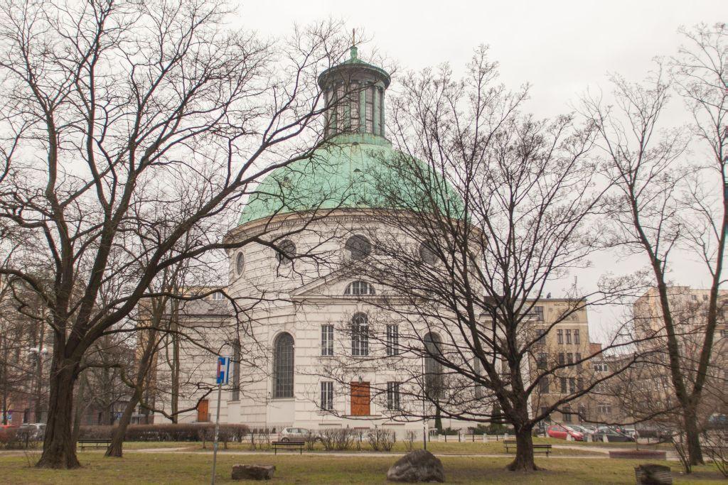 plac Małachowskiego Kościół Św Trójcy