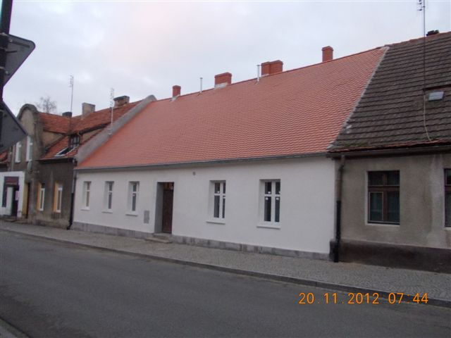 Murowana Goslina domy nowe