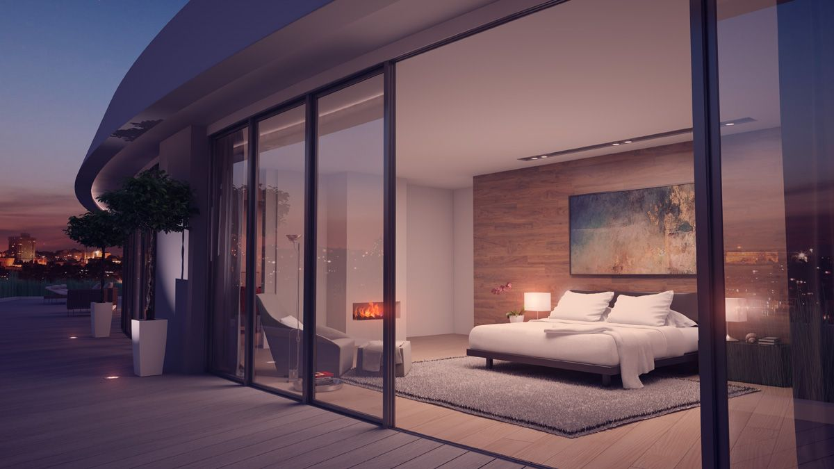 OVO Wroclaw penthouse