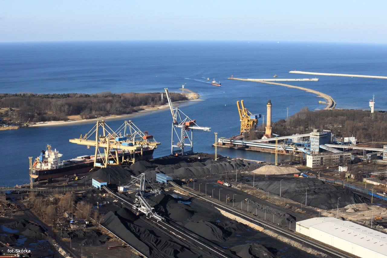 OT Port Swinoujscie aerial view 2
