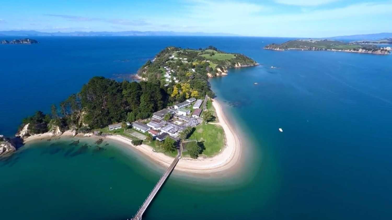 Wyspa w okolicach Auckland